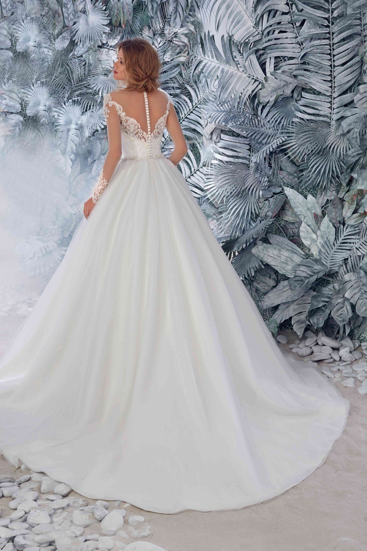 Braut Spitze Kathedrale Brautkleid Hochzeitskleid