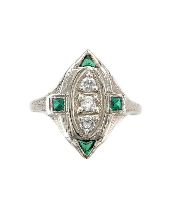 emerald customer and pin man emeralds support made ring
