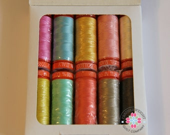 Aurifil 50 wt Sweet as Honey Thread collection - Sale Priced!