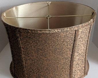 Mid Century Decor Vintage Lamp Shade Table Lamp Shade Fabric Lamp Shade Drum Lamp Shade Desk Lamp Shade Damask Lamp Shade French Decor