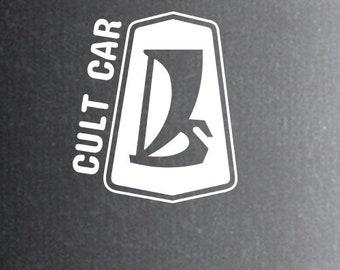 3x Lada cult car sticker