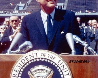 President John F. Kennedy JFK Poster Art Photo USA Historical Posters Artwork Photos 12x18
