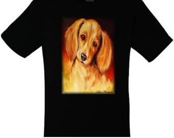 T-shirt for woman and man puppy