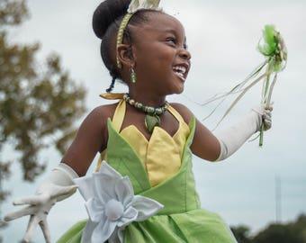 Princess Tiana Ball Gown Costume