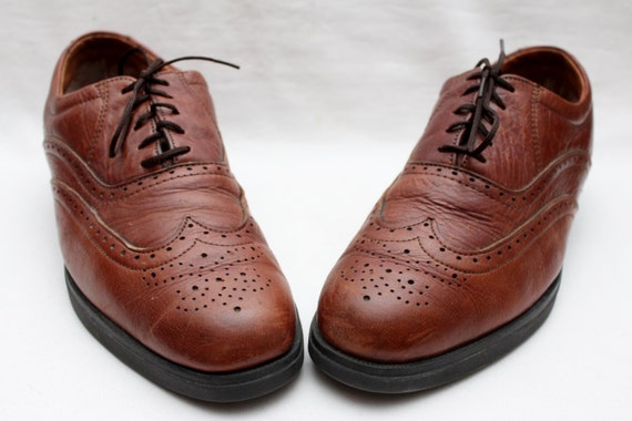 80's Leather Oxfords Exclusive 5 Men's Tan 9