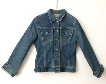 Blue Denim Jean Jacket 90's