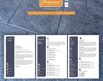 Resume Design Creative Template 10 Professional | Resume Writing | Cover Letter | Resume Design Service | Resume Design Package