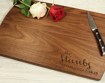 Personalized cutting board-1,Engraved cutting board,Personalized wedding gift, cuttingboard, for couples, housewarming gift, engagement gift