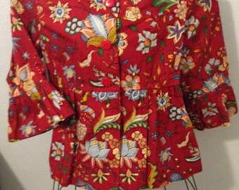 1980 Painted Pony Blouse