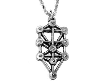 Tree of Life (Qabalah) Kabbalah Pagan Pendant Necklace