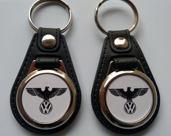 VW EAGLE KEYCHAIN fobs 2 pack