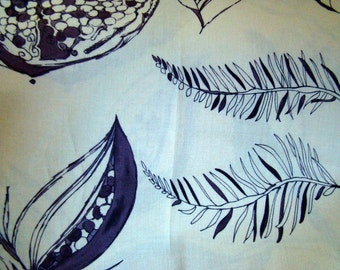 Tina Givens Treetop Fancy Fabric by Westminster Night Sky Ivory Last Yard