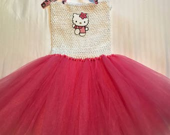Hello Kitty Tutu Dress Up Costume (5Y - 7/8)