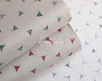 kokka - dobby - abstract fabric -50cm