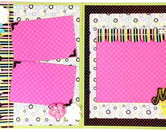 My Girl 2 Page Scrapbook Page Kit