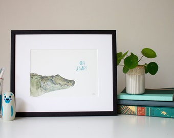 Oh Snap! - unframed print