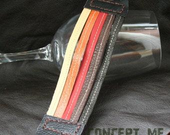 Leather Cuff Leather bracelet handmade LC0005