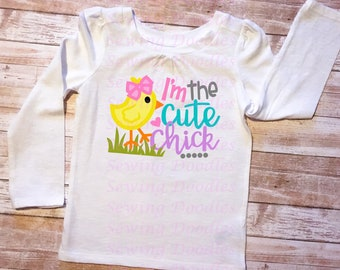 I'm the Cute Chick Graphic T-shirt