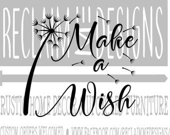 Make a wish SVG,PNG, and JPEG dandelion file