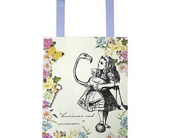 8 Alice In Wonderland Paper Party Bags , Mad Hatters Tea Party Treat Bags ,