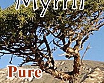 MYRRH Pure Essential Oil, Organic (1/2 or 1 full ounce!)