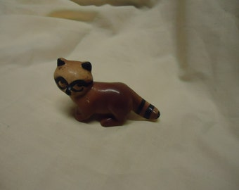 Vintage Ceramic Racoon or Fox figurine, collectable
