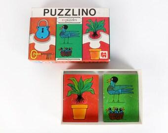 Vintage Jigsaw Puzzle-Puzzlino-Jumbo