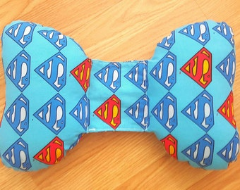 Superman vs Batman Baby Head Support - Torticollis - Positional Plagiocephaly - Car Seat Accessory - Unique Baby Shower Gift