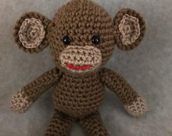 """9"""" Little crochet Monkey by crochetbyloraine"""