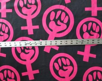 FABRICs - Feminist Activist (poly knit)