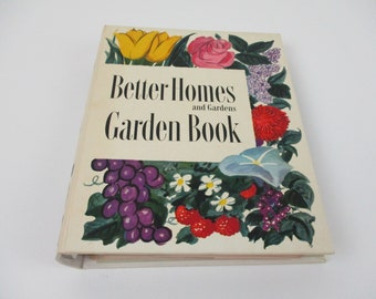 Vintage Better Homes and Gardens Garden Book, 1st Edition 1951, Mother's Day Gift