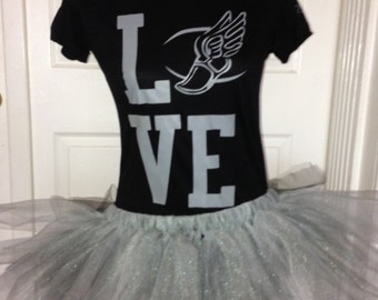 Silver Linings (White & Silver) Tutu