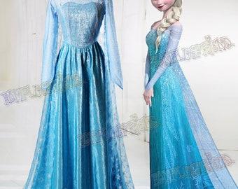 Disney Frozen ( Movie) Cosplay, Elsa Costume Adult Women Outfit