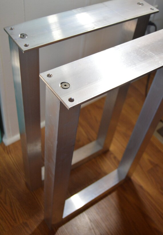 Beau The BEST Metal Table Legs 2 Square SET Of 2 Frame