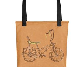 Retro Banana Seat bicycle Tote bag