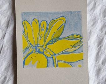 Limited Editon Flower Risoprint - A6 size