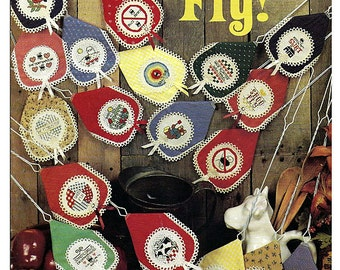 Shoo Fly Swatter Covers Counted Cross Stitch Pattern Book