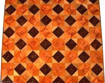 Wenge-Walnut, Bubinga-Cherry Chess Board