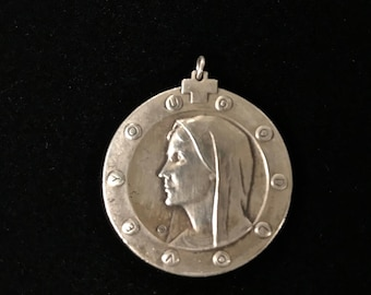 Religious Sterling Silver Pendant