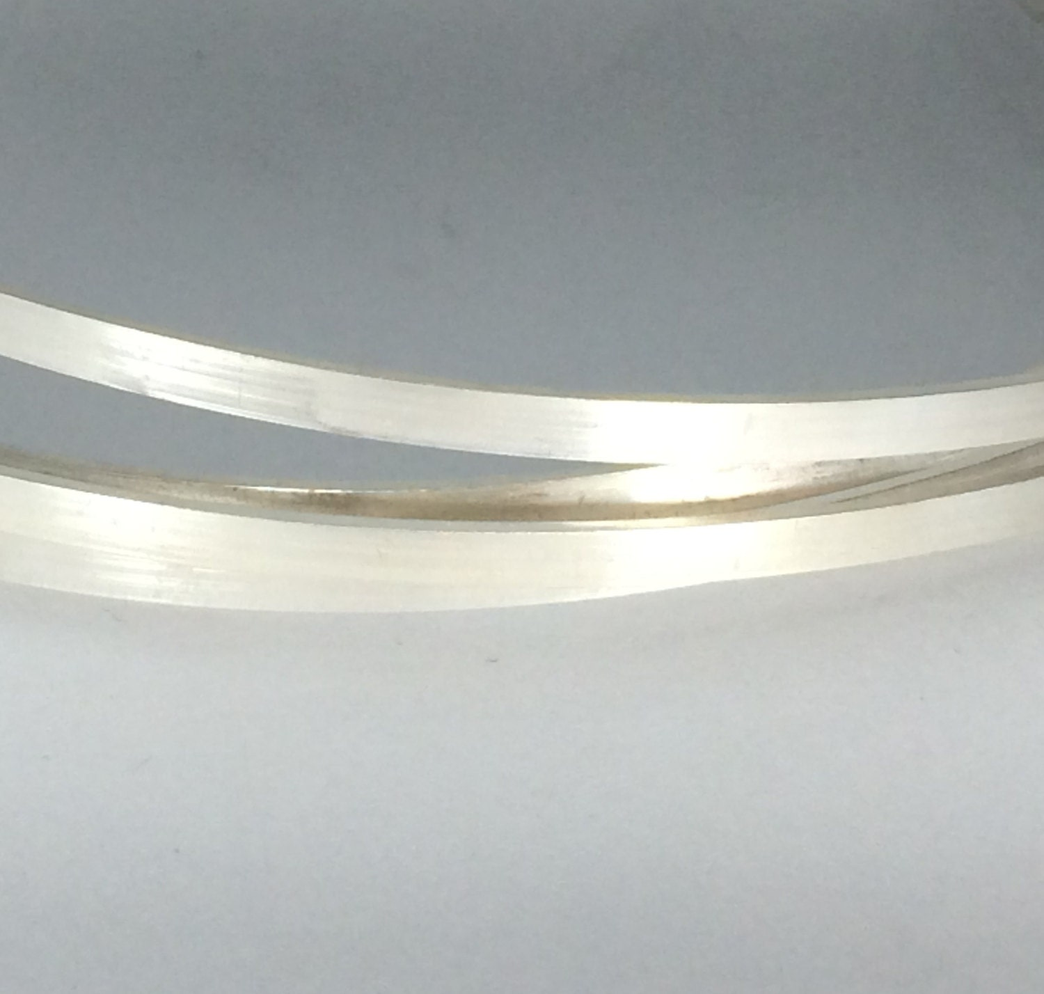 12 inches sterling silver 4mm x 1mm flat rectangle wire stock, great ...