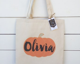 Halloween Tote bags,2,Personalized Halloween bag,Canvas Tote Bag,Halloween bag,Harvest Bag,Trick or Treat Bag,by Modern Vintage Market