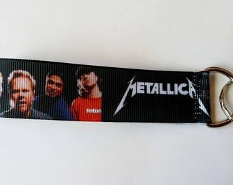 ♥ Key ♥ strap band METALLICA Hard rock heavy metal ♥ ♥