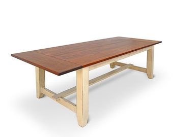 Table, Dining Table, Reclaimed Wood, Rustic, Shabby Chic, Farmhouse