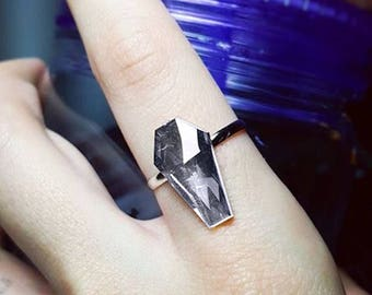 Coffin Ring - Adjustable Band