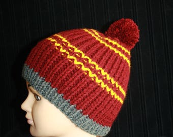 very warm hat in colors of a certain Harry
