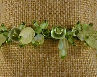 Chablis Flower Garden Bracelet