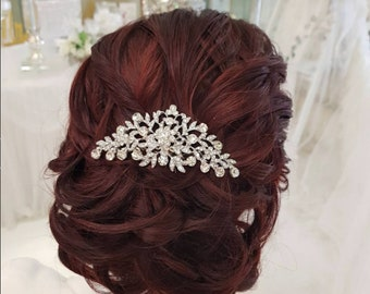 SHERIDAN - Gold Wedding Bridal Hair Comb