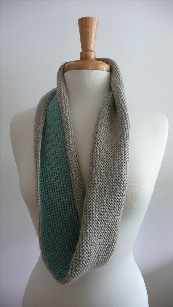Items Similar To Infinity Twist Scarf Tunisian Crochet