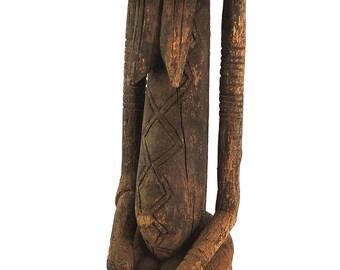 Dogon Ancestor Figure Nommo Mali African Art 25 Inch 100585