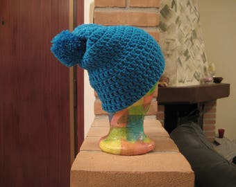 Woolly hat wool hat with pompom